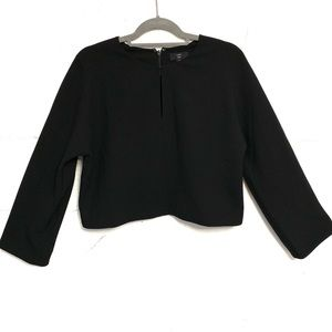 NWT J. Crew Cropped long-sleeve top in 365